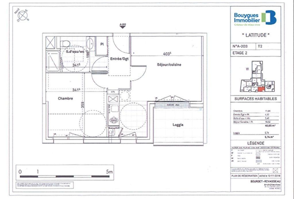 Appartement Saint Malo 2 pièce(s) 40.65 m2