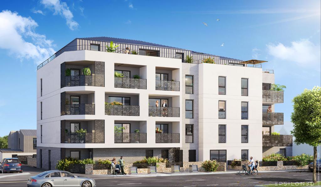 Appartement neuf deux pièces à Saint-Malo