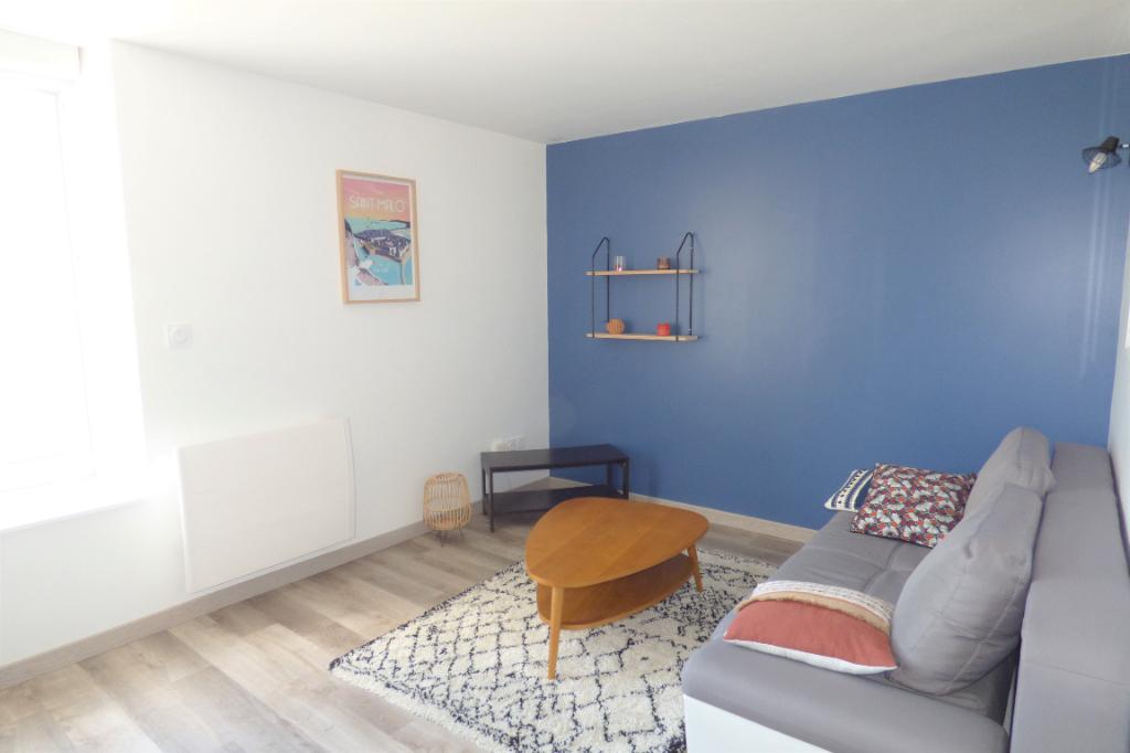Superbe appartement deux pièces à Saint-Malo avec vue mer