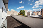 Exclusivité. Jourdain. Exceptionnel duplex neuf aux derniers étages de 6 pièces  de 130m2 carrez  avec terrasse de 36,25m2 et balcons/terrasses 34,30m2 sans vis à vis au calme. 2/16