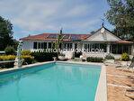Maison à Champcevinel de 285m2 avec studio de 56m², jardin, garage, piscine 1/11