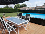 Maison de plain-pied 90m² à Coulounieix Chamiers 4 pièce(s) 3 chambres, un garage, un jardin, une piscine 2/8