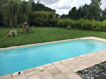Maison plain pied bois avec piscine