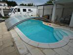 Maison  f6 145 m² hab terrain 1224 m²  + piscine et dpdces 5/18