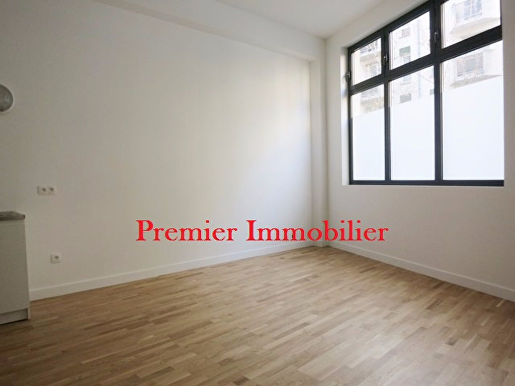 Studio 24m² paris 19ème