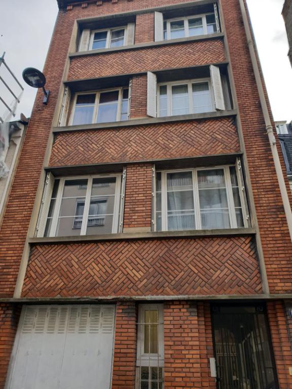 Studio + souplex de 27.50 m2 paris 20ème