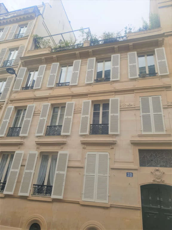 Studio de 17m² paris 9ème