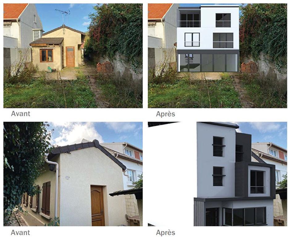 Maison 5 pièces de 144m² a Romainville 93230