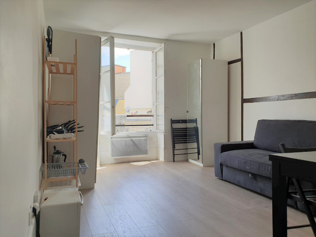 Studio 18m² Paris 10ème