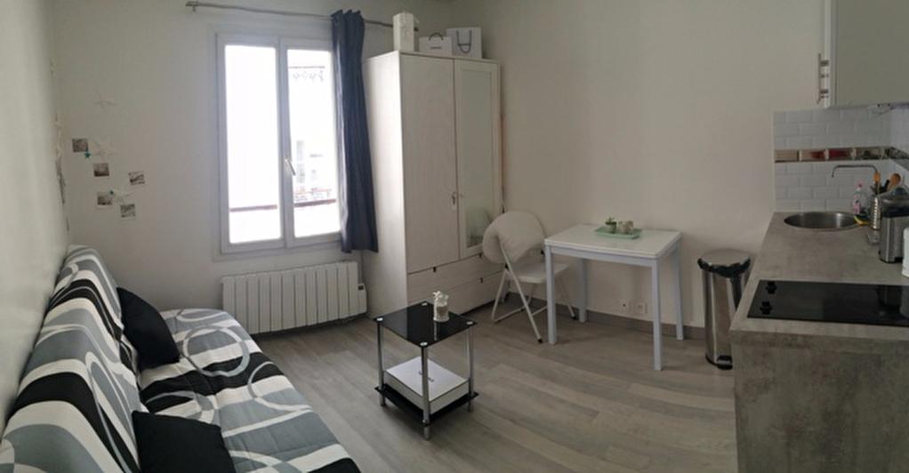 Studio meublé 14m² paris 9ème