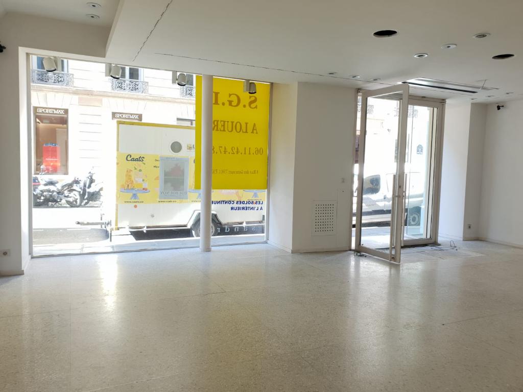Local commercial 96 m2 Paris 6eme