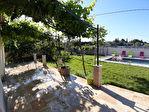 Villa sur les hauteurs de Carpentras avec piscine, sur 1113 m2 environ de terrain clos 3/11