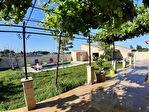 Villa sur les hauteurs de Carpentras avec piscine, sur 1113 m2 environ de terrain clos 4/11
