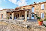 Mas en Vaucluse commune de Pernes Les Fontaines sur 18 000 m2 env. de terrain avec piscine 3/15