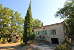 Villa à Aubignan en pierres apparentes sur terrain de 3800 m2 environ 3/12