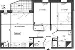 Appartement Nantes 3 pièce(s) 57.270 m2 2/2