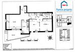 À vendre : Toulouse - Déodat de Séverac / Arènes ; Appartement T3 71m²  / BALCON / PARKING S-S 6/12