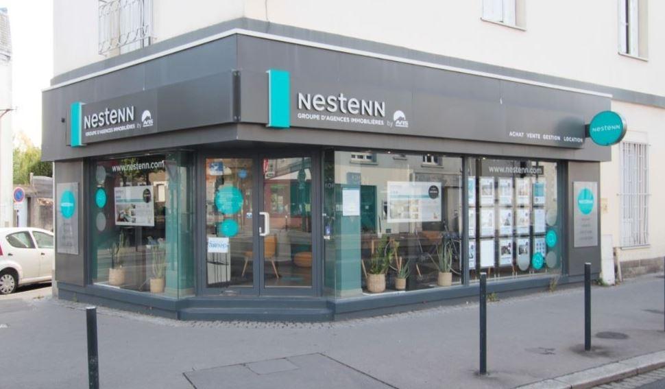 illustration Immobilier Nantes rond point de vannes Nestenn