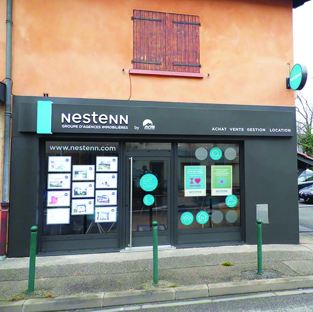 illustration Immobilier Craponne 69290 Nestenn
